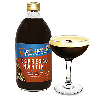 Tipplesworth Espresso Martini Cocktail Mixer 500ml alt image 3