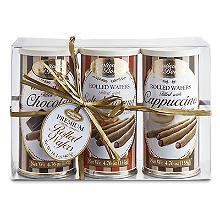 Borgo de' Medici Trio of Italian Rolled Wafers 3 x 135g