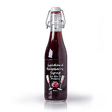 Cumbrian Delight Lakeland Raspberry Syrup for Gin and Prosecco 330ml
