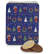 Milly Green Merry Little Christmas Biscuit Tin and Biscuits 200g