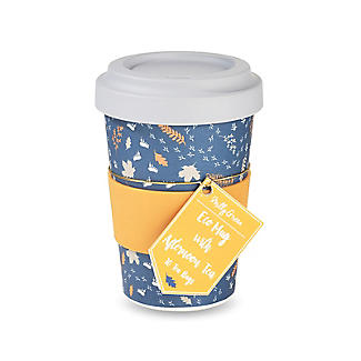 Milly Green Travel Mug with Tea