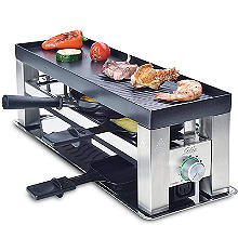Solis 4 in 1 Tabletop Grill and Raclette Type 790