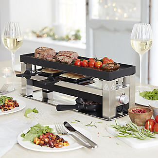 Solis 4 in 1 Tabletop Grill and Raclette Type 790 alt image 2