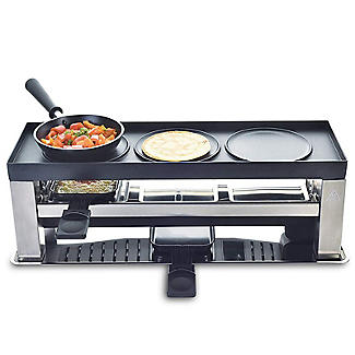 Solis 4 in 1 Tabletop Grill and Raclette Type 790 alt image 4