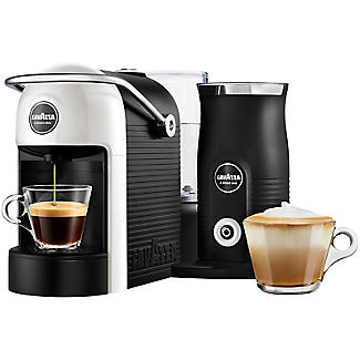 Lavazza Jolie Plus Coffee Machine with Milk Frother White 18000230