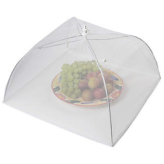 KitchenCraft White Umbrella Food Cover 40cm