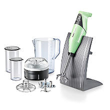Bamix Colorline Hand Blender Set Mint 100.706