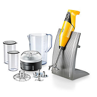 Bamix Colorline Hand Blender Set Mango 100.705