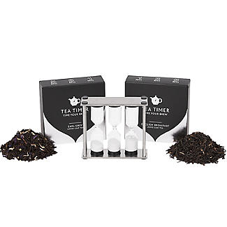 Fell's Tea Timer with Loose-Leaf Tea Gift Pack