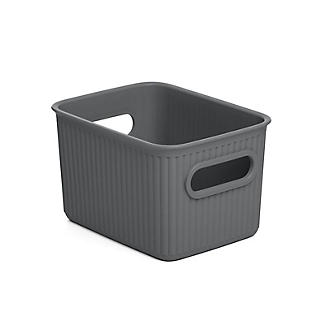 Tatay Baobab Home Storage Basket Anthracite Grey 1.5L
