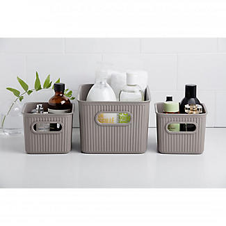 Tatay Baobab Home Storage Basket Anthracite Grey 1.5L alt image 3