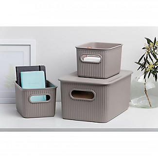 Tatay Baobab Home Storage Basket Anthracite Grey 1.5L alt image 5