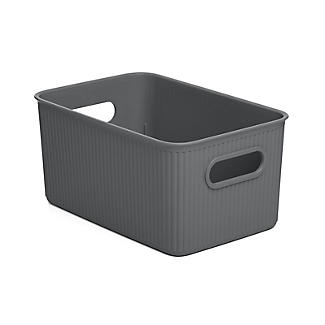 Tatay Baobab Home Storage Basket Anthracite Grey 5L