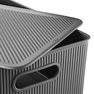 Tatay Baobab Home Storage Lid Anthracite Grey – Fits 15L and 22L Baskets alt image 4