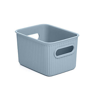 Tatay Baobab Home Storage Basket Blue Mist 1.5L