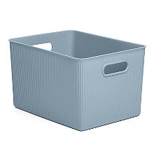 Tatay Baobab Home Storage Basket Blue Mist 22L