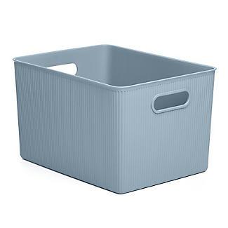 Tatay Baobab Home Storage Basket Blue Mist 22L