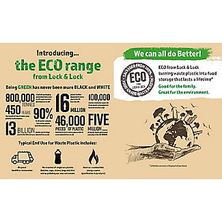LocknLock Eco Food Storage Container 470ml alt image 4
