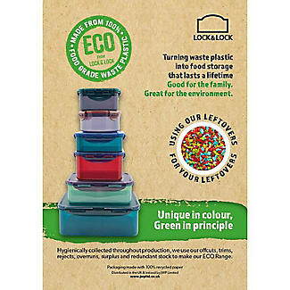 Lock & Lock Eco Food Storage Container 1L alt image 2
