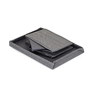 Foldable Grey Shoe Storage Box with Viewing Window alt image 7