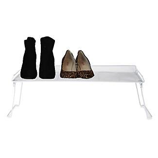 Xtend Stackable Rectangular Folding Shelf Shoe Rack