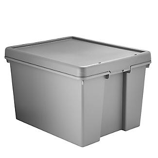 Wham Bam Upcycled Storage Box with Lid – 45L alt image 4