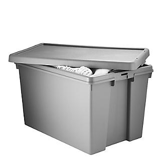 Wham Bam Upcycled Super Strong Storage Box with Lid – 62L