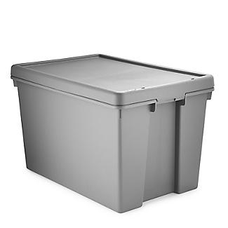 Wham Bam Upcycled Super Strong Storage Box with Lid – 62L alt image 4