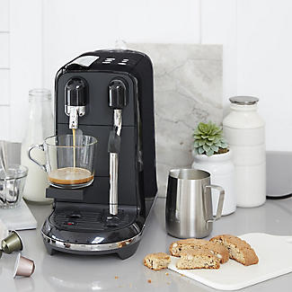 Nespresso Sage The Creatista Uno Coffee Machine Black SNE500BKS alt image 2