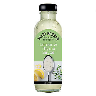 Mary Berry's Lemon & Thyme Sauce 235ml. alt image 1