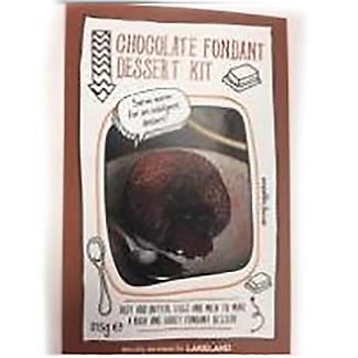 Lakeland Chocolate Fondant Dessert Kit