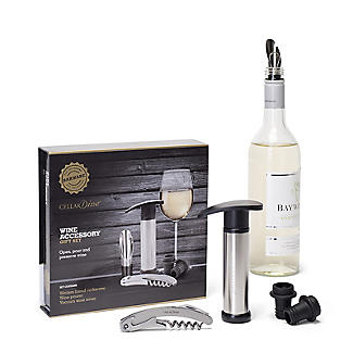 CellarDine Wine Accessory Gift Set – 5 Pieces