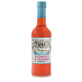 Mr Fitzpatrick's No Added Sugar Cordial Raspberry and Lavender 500ml