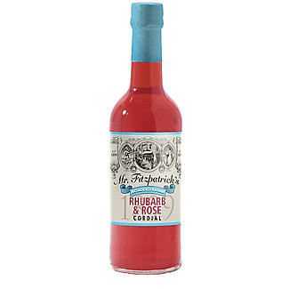 Mr Fitzpatrick's No Added Sugar Cordial Rhubarb and Rose 500ml