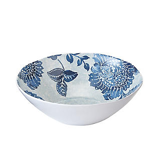 Summer Blooms Melamine Bowl