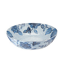 Summer Blooms Melamine Salad Bowl