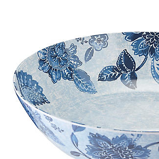Summer Blooms Melamine Salad Bowl alt image 6