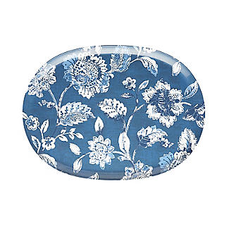 Summer Blooms Melamine Oval Serving Platter alt image 3