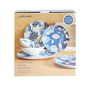 Summer Blooms Melamine 12-Piece Dinner Set alt image 8