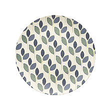 Summer Leaves Bamboo Dinner Plate