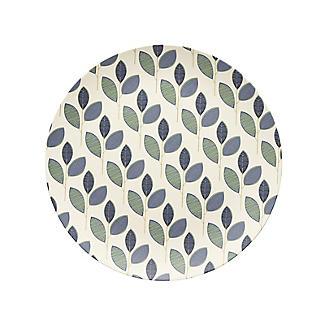 Summer Leaves Bamboo Dinner Plate