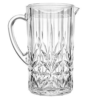 Crystal-Look Acrylic Jug with Lid