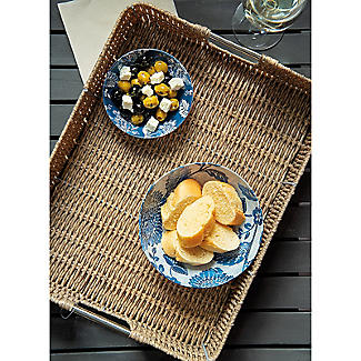 Rustic Woven Serving Tray alt image 2