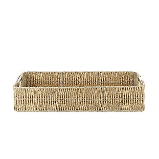 Rustic Woven Serving Tray alt image 4