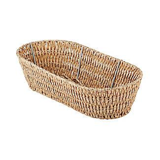 Rustic Woven Oval Basket alt image 4