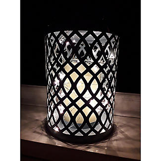 Summer Blues Hurricane Lamp alt image 3