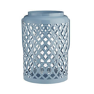 Summer Blues Hurricane Lamp alt image 5