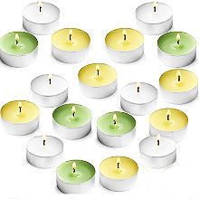 18 Citronella with Basil Tealight Candles