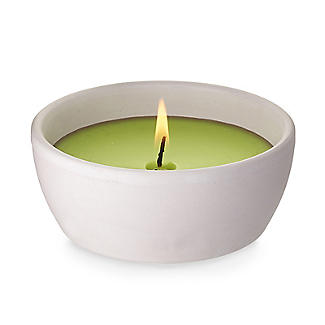 Citronella with Basil Terracotta Candle