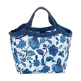 Summer Blooms Insulated Lunch Tote 3L